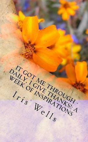 Bog, paperback It Got Me Through - Daily, I Give Thanks! af Iris Wells