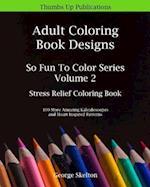 Adult Coloring Book Designs