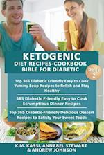 Ketogenic Diet Recipes-Cookbook Bible for Diabetic