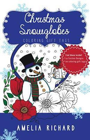 Bog, paperback Adult Coloring Book - Christmas Snowglobes af Amelia Richard