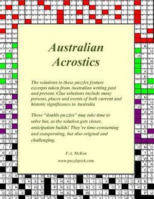 Bog, paperback Australian Acrostics af Fraser a. McKen