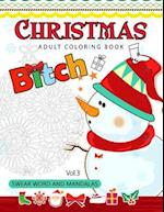 Christmas Adults Coloring Book Vol.3