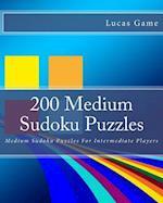 200 Medium Sudoku Puzzles