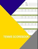 Tennis Scorebook