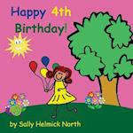 Happy Fourth Birthday! (Girl Version)