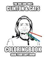 Clinton and Cats Coloring Book