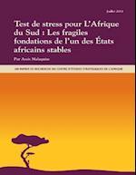 Test de Stress Pour L'Afrique Du Sud
