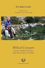 Biblical Concepts af B. Cobbey Crisler