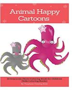 Animal Happy Cartoons