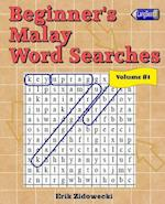 Beginner's Malay Word Searches - Volume 1