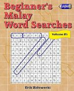 Beginner's Malay Word Searches - Volume 3