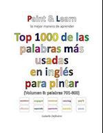 Top 1000 de Las Palabras Mas Usadas En Ingles (Volumen 8 Palabras 701-800)