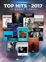 Top Hits of 2017 Big-Note Piano