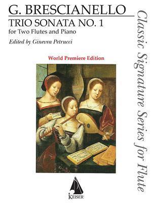 Trio Sonata No. 1 for Two Flutes and Basso Continuo (Realized for Piano)