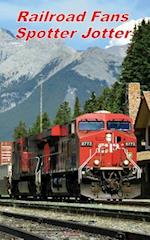 Railroad Fans Spotter Jotter