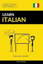 Learn Italian - Quick / Easy / Efficient af Pinhok Languages