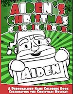 Aiden's Christmas Coloring Book
