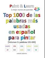 Top 1000 de Las Palabras Mas Usadas En Espanol (Volumen 2