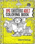 Epic Christmas Adult Coloring Book