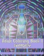 Adult Coloring Book 1 af Jeffrey S. Thomas