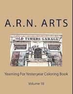 Yearning for Yesteryear Coloring Book