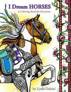 Bog, paperback I Dream Horses af Linda Dalziel