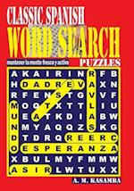 Classic Spanish Word Search Puzzles