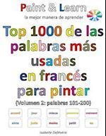 Top 1000 de Las Palabras Mas Usadas En Frances (Volumen 2