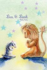 Lion & Lamb Blank Book