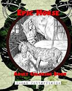 Epic Horse Adult Coloring Book