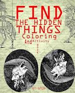 Find the Hidden Things Coloring and Activity Book