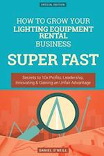How to Grow Your Lighting Equipment Rental Business Super Fast