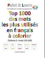 Top 1000 Des Mots Les Plus Utilises En Francais (Volume 2