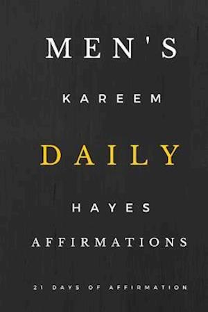 Bog, paperback Men's Daily Affirmations af Kareem J. Hayes Sr