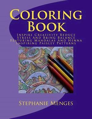 Bog, paperback Coloring Book af Stephanie Menges