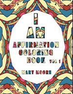 I Am Affirmation Coloring Book