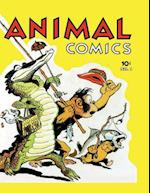 Animal Comics #1 af Dell Publishing Company