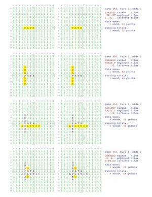 Bog, paperback Fifty Scrabble Box Scores Games 451-500 af MR Francis Gurtowski