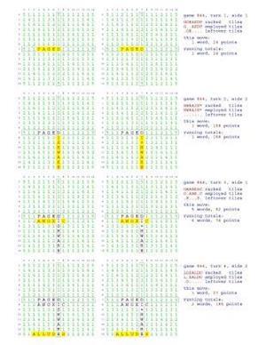 Bog, paperback Fifty Scrabble Box Scores Games 801-850 af MR Francis Gurtowski