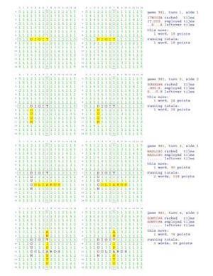 Bog, paperback Fifty Scrabble Box Scores Games 951-1000 af MR Francis Gurtowski