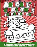 Abigail's Christmas Coloring Book