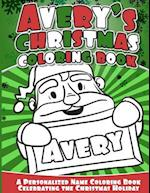 Avery's Christmas Coloring Book