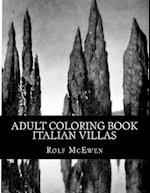 Adult Coloring Book Italian Villas