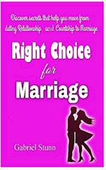 Making the Right Choice for Marriage