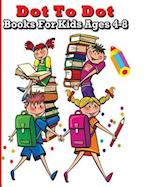 Dot to Dot Books for Kids Ages 4-8 af Aubrey Brooklyn