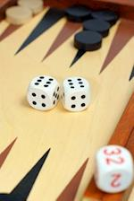 Backgammon Board and Dice Game Journal
