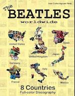 The Beatles Worldwide - 8 Countries - UK, Us, Germany, Spain, Italy, France...