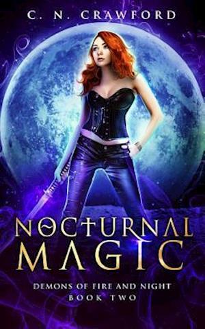 Bog, paperback Nocturnal Magic af C. N. Crawford