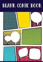 Blank Comic Book Panelbook - 7 Panel,5 Speech Bubble 7x10,80 Pages