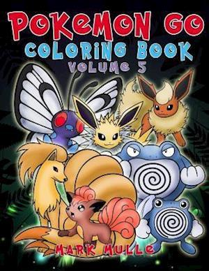 Bog, paperback Pokemon Go Coloring Book af Mark Mulle